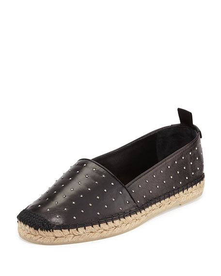 Saint Laurent Leather slip-on espadrilles free shipping extremely clearance cheap discount marketable release dates online cost DHQJhbXU