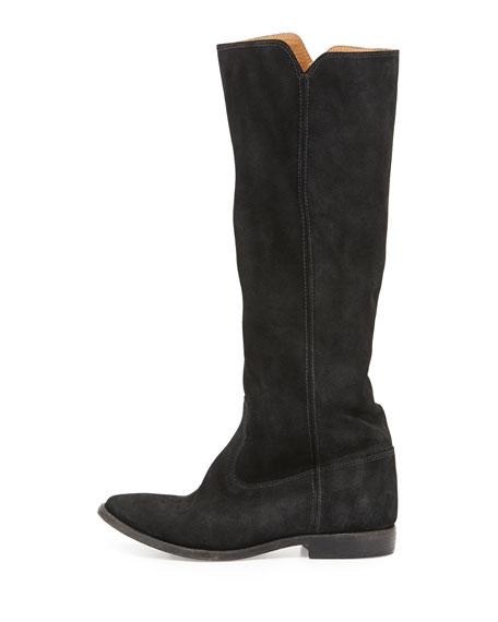 Cleave Hidden-Wedge Knee Boot