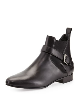 Miu Miu Chelsea Boot with Buckle