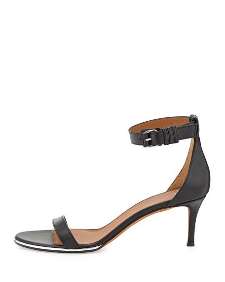 f0b15b946e77 Givenchy Nadia Low-Heel Ankle-Strap Sandal