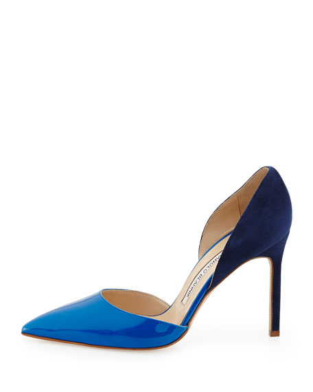 Tayler Combo d'Orsay Pump, Blue