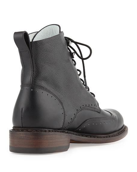 Cozen Wingtip Lace-Up Boot