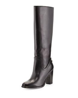 Rag & Bone Lilford Leather Knee Boot