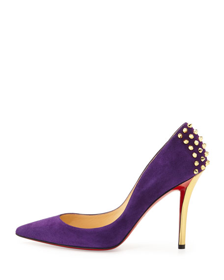 christian louboutin spiked zappa pumps