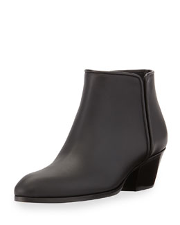 Giuseppe Zanotti Leather Gored Zip Ankle Boot