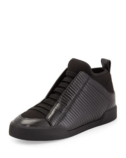 3.1 Phillip Lim Morgan Combo Slip-On Slipper