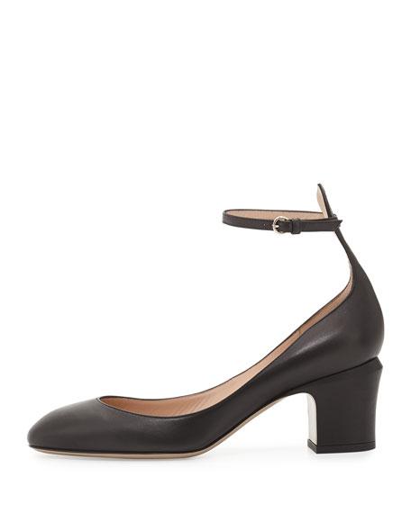 Tango Napa Leather Pump, Black