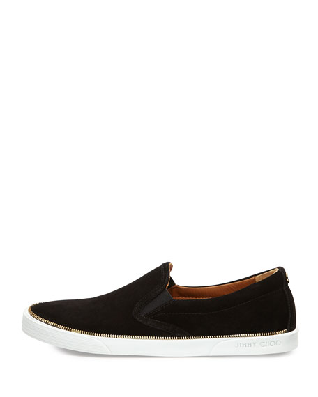 Demi Slip-On Skate Sneaker, Black