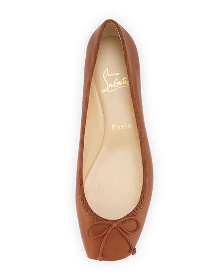 448d575df3c Christian Louboutin Rosella Leather Ballet Flat