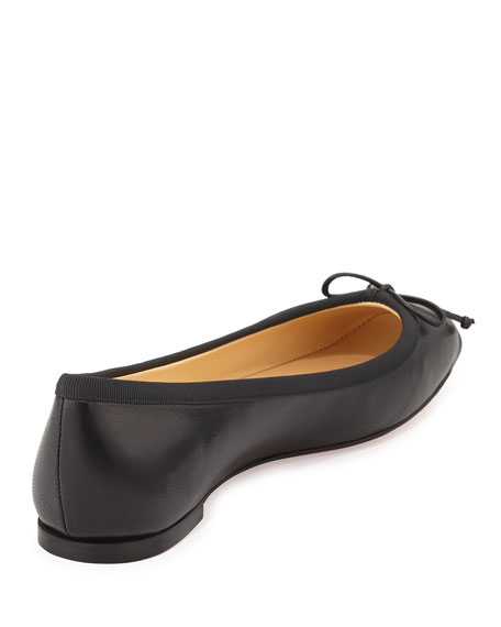 d9278fec25b Christian Louboutin Rosella Leather Ballet Flat