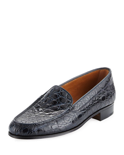 Crocodile Venetian Loafer
