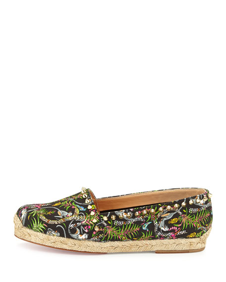 christian louboutins price - Christian Louboutin Ares Canvas Red Sole Espadrille, Black/Light ...