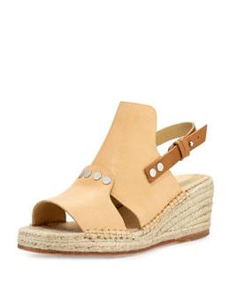 Sayre II Espadrille Wedge Sandal, Neutral