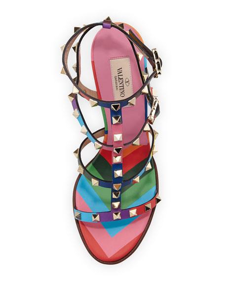 1973 Rockstud Multicolor City Sandal