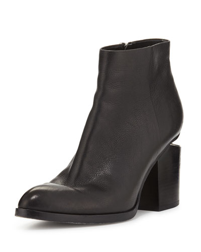Gabi Tumbled Leather Bootie
