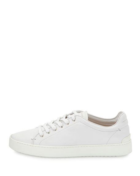 808f8ab95 Rag & Bone Kent Lace-Up Leather Low-Top Sneaker, White