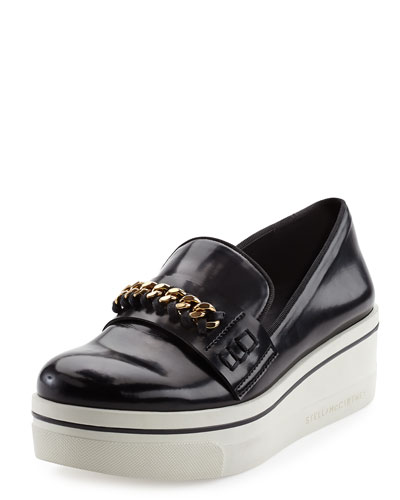 Curb Chain Sneaker-Style Loafer