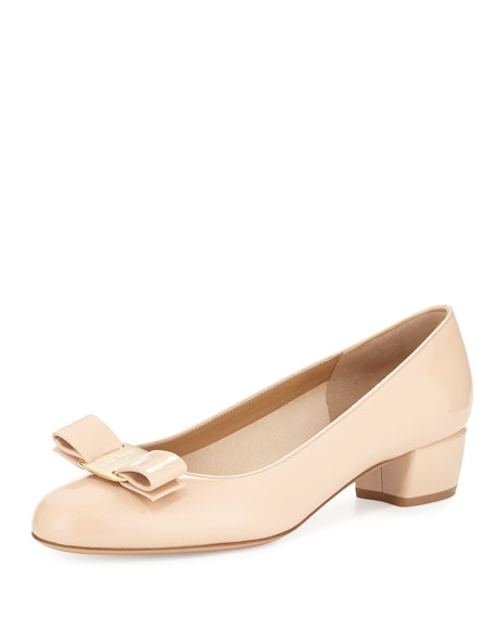 Patent Bow Pump, Bisque