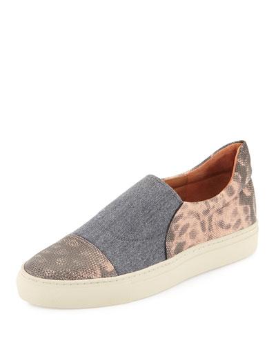 Lizard & Flannel Skate Shoe, Rose
