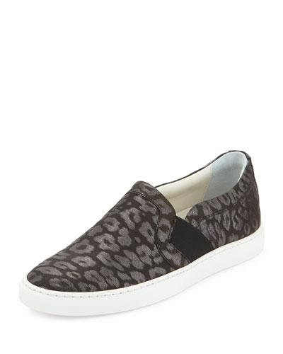 Shimmer Leopard-Print Skate Shoe