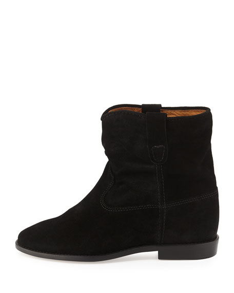 Crisi Flat Western Ankle Boot