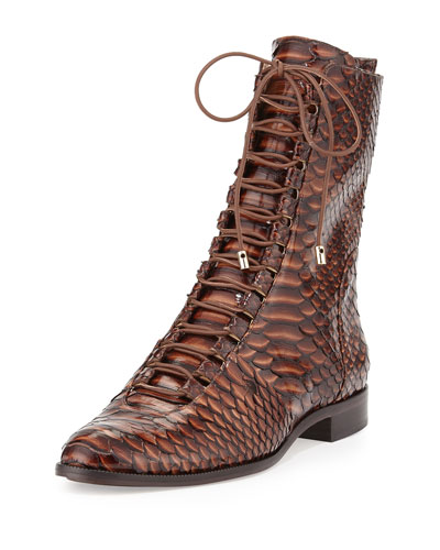 Coro Python Lace-Up Mid-Calf Boot