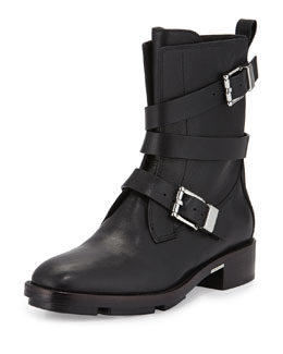 Louise Wrap-Around Buckle Boot