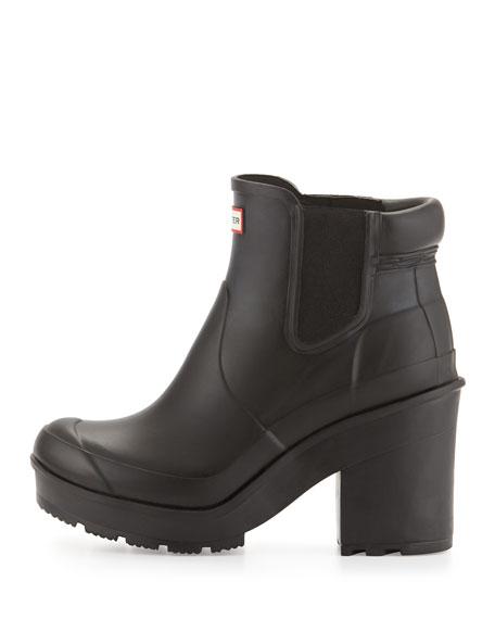 Hunter Boot Original Chelsea Block-Heel