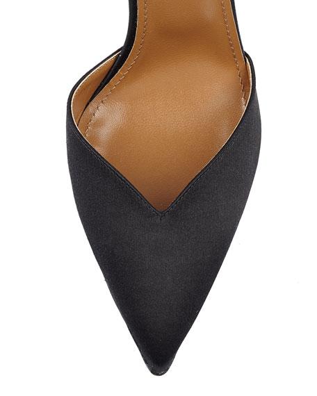 5e4077d18d1 Aquazzura Candela High-Heel Suede d Orsay Sandal