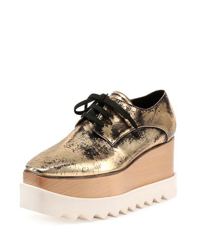 Elyse Metallic Platform Creeper