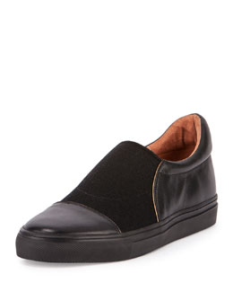Skater Slip-On Shoe, Black