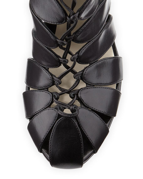 Lace-Up Gladiator Knee Boot