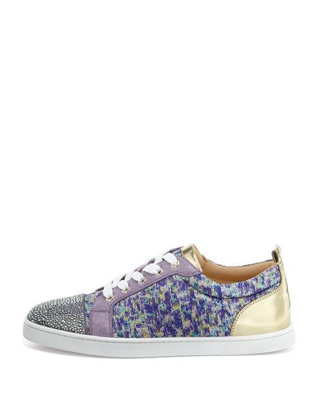 replica christian louboutin shoes - Christian Louboutin Gondolastrass Low-Top Sneaker, Digitale