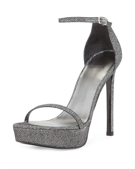 shop for cheap price Stuart Weitzman Metallic Platform Pumps clearance wholesale price PwXXCjlEA