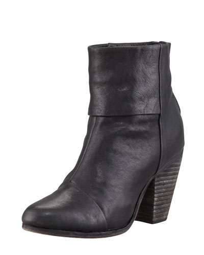 Classic Newbury Leather Bootie