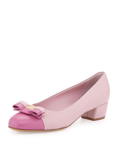 ferragamo pink heels