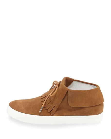Luca Fringe High-Top Sneaker