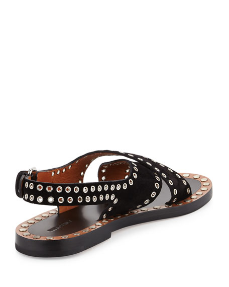 comfortable sale online Isabel Marant Suede Grommet Flats cheap great deals low price sale online discount best store to get 100% guaranteed for sale dkGnL1NyH
