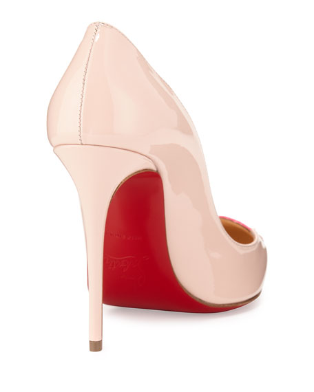 fef2a291b6c0 Christian Louboutin Doracora Patent Heart Red Sole Pump