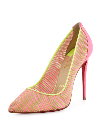 christian louboutin sandals Blue leather woven vamps | The ...