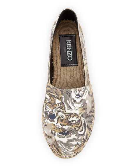 Flying Tiger Canvas Espadrille Flat, Beige