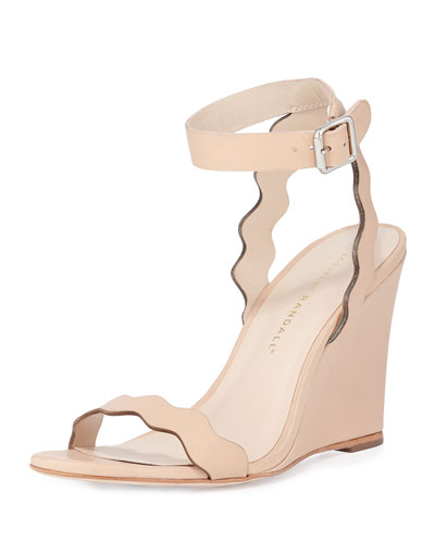 Piper Curvy Wedge Sandal, Natural