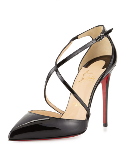 replica men - christian louboutin python d\u0026#39;Orsay pumps Black and brown suede ...