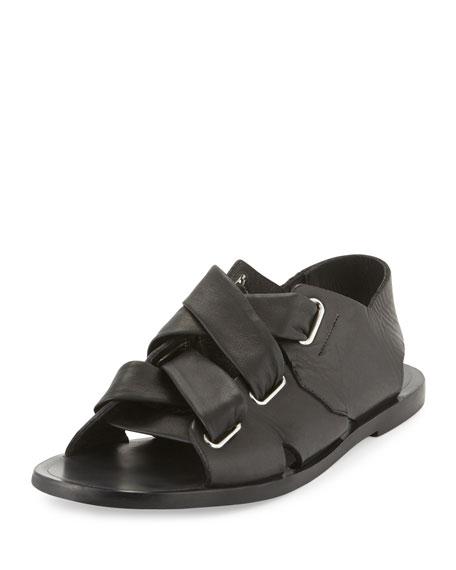 Rag & Bone Leather Buckle Sandals cheap shop for YcWxCuB
