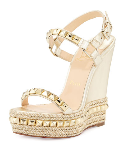 Wedge Sandals : Peep-Toe \u0026amp; Slingback at Bergdorf Goodman
