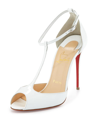 CHRISTIAN LOUBOUTIN Chester Fille 120 Tiger-Print Calf Hair Ankle ...