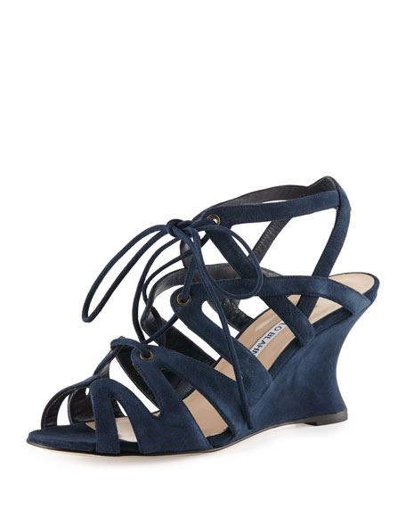Manolo Blahnik Netochka Cage Sandals free shipping 2014 new reliable cheap price outlet professional eastbay for sale clearance big discount 8guubpwr1