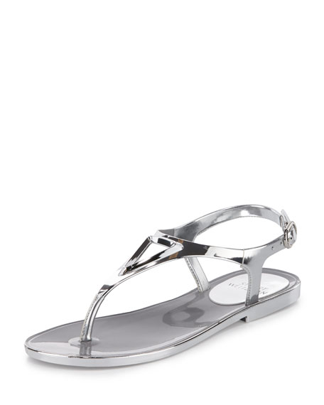 Stuart Weitzman Rubber T-Strap Sandals clearance nicekicks GWsvQ