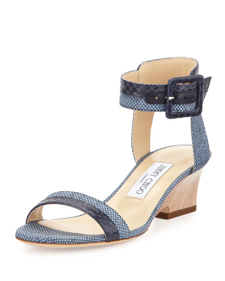Jimmy Choo Mansy Ankle Strap Sandals discounts for sale OeYrvB