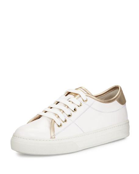 Blanc Sneaker En Cuir Tods FCXJF